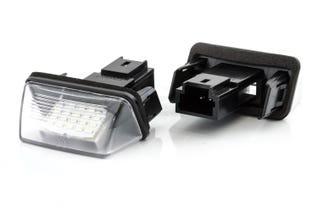 Canlamp LED nummerpladelys sæt (Peugeot/Citroen T1)